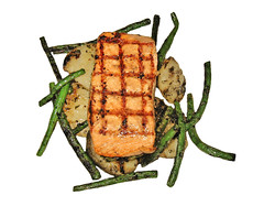 Grilled Salmon With Green Beans, Potaoes & Truffle Oil (cravinmaven) Tags: seattle bon food white fish green beauty french gold washington yummy potatoes beans yum dish wine personal main cook salmon tasty professional eat yukon hunger chef enjoy meal oil seafood hungry dine elegant grilled truffle sparkling savory craven tender perfection yakima truffles fulfill chardonnay craving buttery viognier charred moist pairing vivant satisfy enrich cravin
