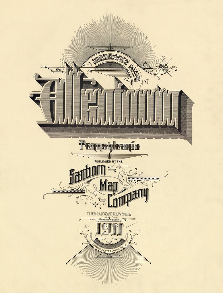 Allentown, Pennsylvania 1911