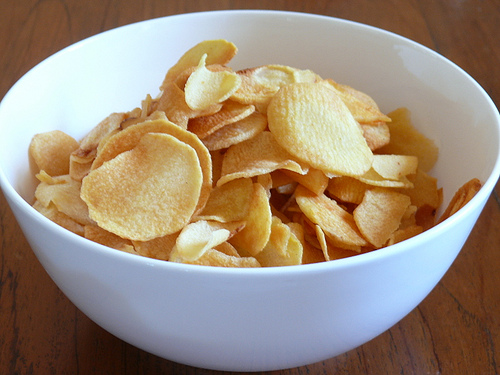 arrowroot chips