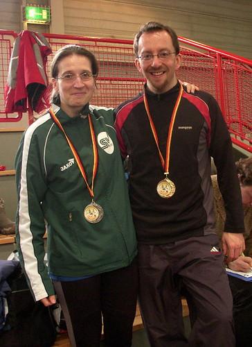Annett Fischer + Martin Herzberg Senioren DM 2011 in Erfurt