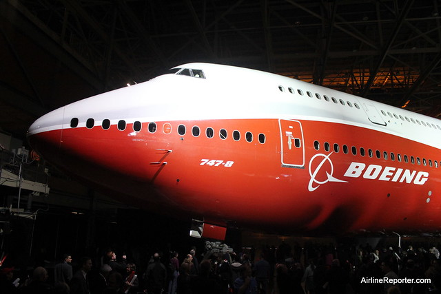 First Boeing 747-8 Intercontinental