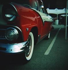 (s myers) Tags: classic car vintage mediumformat xpro kodak muscle antique kentucky ky crossprocess badass diana vehicle louisville e100vs 120mm nhra nationalhotrodassociation photoworkssf