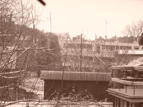 kazimierz by winter