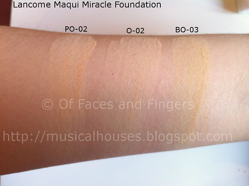 lancome maqui miracle swatches 2