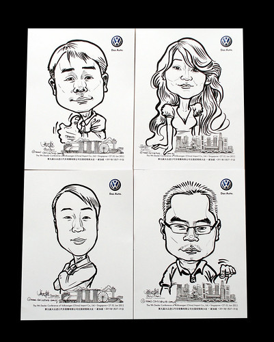 caricatures for Pico Art and Volkswagen - 13