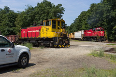 A Sight Not Going Away Just Yet (sully7302) Tags: morristown erie lake juncion morris county rail railroad chester norfolk southern alco emd sw1500 c424 railway train freight branch shortline