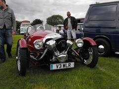 Morgan - V3 WLR (Andy Reeve-Smith) Tags: canada morgan 3wheeler v3wlr louth louthclassiccarshow lincolnshire lincolnshirewolds deightonfields