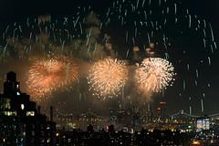 4th of July 2017 Macy's Fireworks-87 (Diacritical) Tags: brooklyn nycmacys nikond4 pattern 70200mmf28 30secatf71 july42017 85216pm f71 195mm 4thofjuly fireworks macysfireworks nyc night skyline