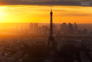 Tour Eiffel & La Défense, Paris