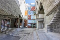 Universidad de Vigo (sairacaz) Tags: vigo galicia universidad arquitectura canon eos550d samyang 8mm fisheye ojodepez