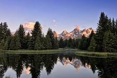Teton Reflection (Molechaser) Tags: mountains tetons grandteton nationalpark appleiphone7plus