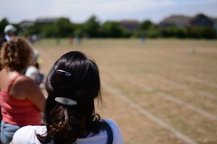 Sports Day from the side (wholestonestudios) Tags: sport sportsday headshot running runningtrack