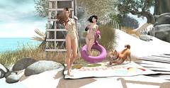 Beach horizons (ecerinei) Tags: anlarposes arcade avenue gacha halfdeer logo myth reign tableauvivant