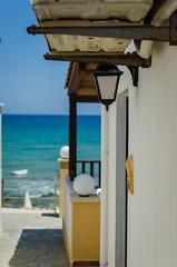 House by the sea (Bilderwense) Tags: kreta crete urlaub vacation griechenland greece nikkor 35mmf18 35mm f18 nikond7000 holidays alexanderbeach alexanderbeachandvillage poolbar beach beachlife sunny sun leisure shore strand dof depthoffield