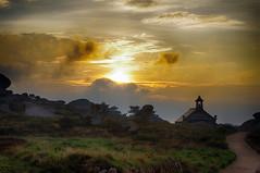 sunset - Ploumanc'h (delphine imbert) Tags: bretagne cote rose sentiers des douaniers coucher de soleil couleurs nature paysage