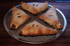 straight from the oven (orgasmictomato) Tags: martianpasties pasties food baking pastries recipe lunch snacks meal cooking chef cook bakery oven australia original originalrecipe pastry frozensupplies