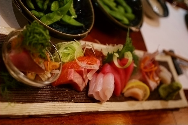 Chef Selection of Sashimi