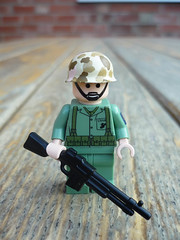 For Zoomy! (Milan CMadge) Tags: world two usmc bar us marine war lego wwii ww2 minifig custom raiders carlsons zoomy brickarms declas