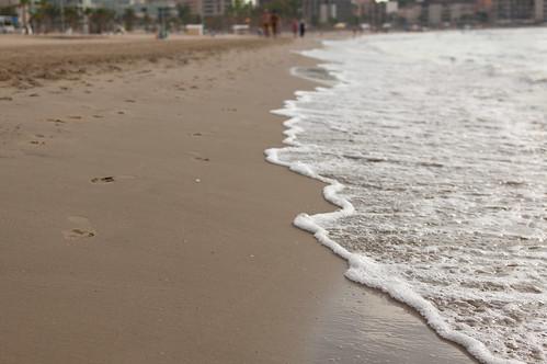 Entre arena y espuma