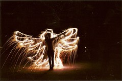 (bowerbirdnest) Tags: longexposure summer film 35mm canon eos rebel fireworks sparklers