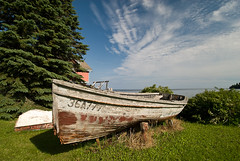 36A777 (Bryan Hansel) Tags: usa minnesota boat fishing dock woodenboat mn lakesuperior hovland 100626