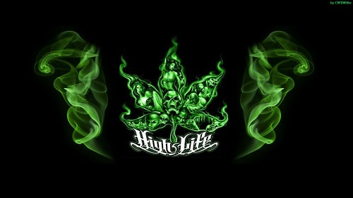 Marijuana High Life custom desktop wallpaper HD 720p ...