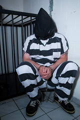 Pennington_8839 (skinmate) Tags: uniform chain shackles prisoner inmate restraints handcuff handschellen legirons
