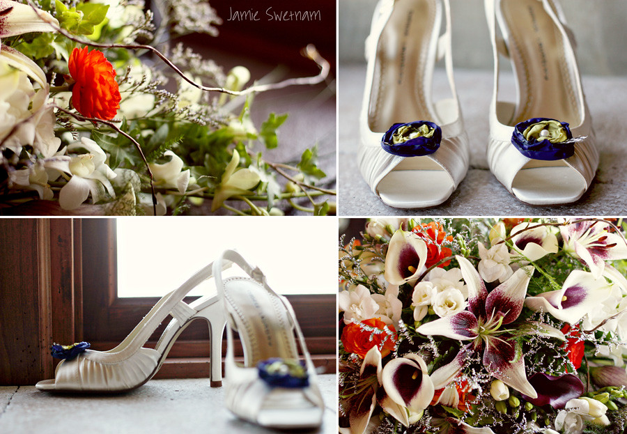 shoes flowers b