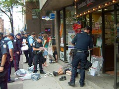 DSCN1790 (Sweet One) Tags: toronto ontario canada video riot protest police demonstration summit 2010 g20