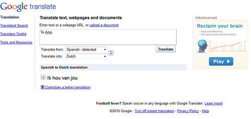 Google Translate Ads