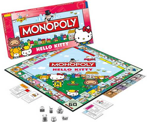 Il monopoli ... di Hello Kitty