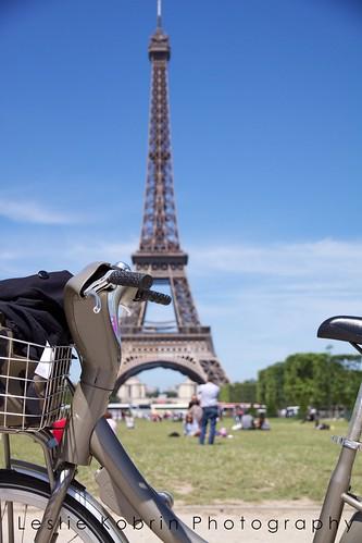 Velib et La Tour Eiffel