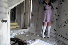 pistola (Sofi Anne) Tags: horses house abandoned girl self manor derelict