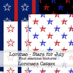 Lorimae Texture -  Stars for July