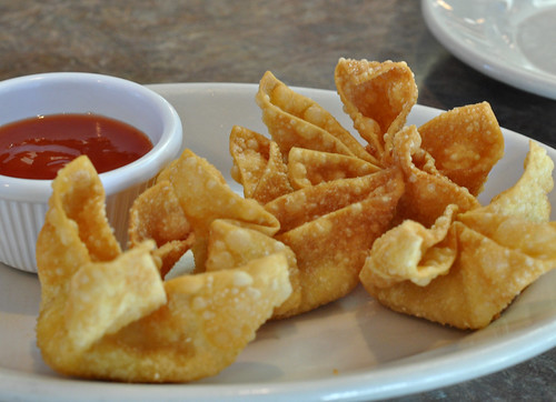 Seafood Cheese Puffs at Golden Wok ~ Austin, TX