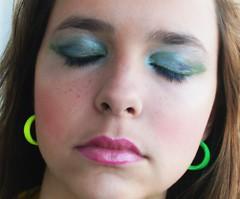 Make Verde e preto (make's * isadora narciso) Tags: isadora narciso