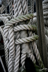Ropes and Knots (Rachel K. Ivey Photography) Tags: uk england portsmouth ropes tallship knots hmsvictory