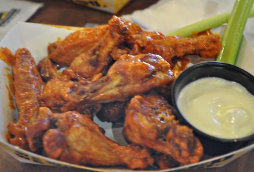Spicy Garlic Buffalo Wings