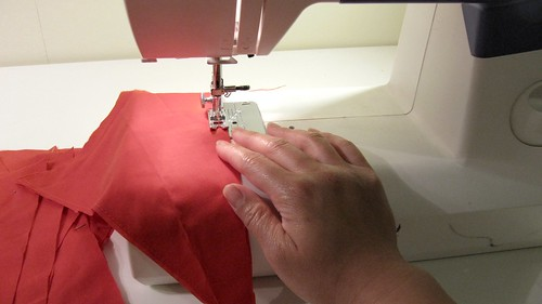 5. DIY Project: Canada Day Pennant Bunting: Sew Pennants Together