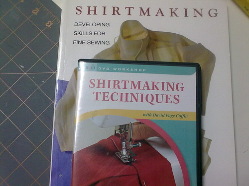 Shirtmaking book and dvd