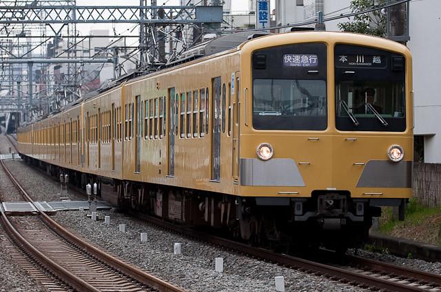 西武鉄道新宿線 新101系快速急行