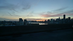 Manhattan skyline (Freddy GP) Tags: leica skyline dusk manhattan 4 dlux