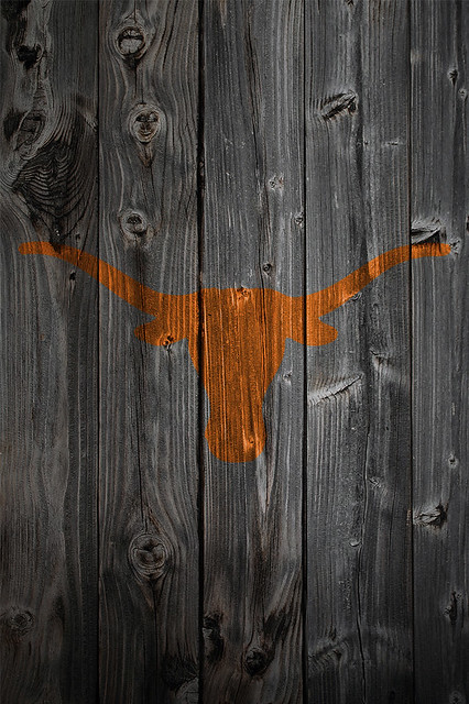 texas longhorn background wallpaper. Texas Longhorns Wood iPhone 4 Background