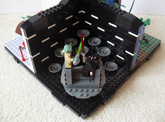Yoda - A Tribute: Revenge of the Sith - Yoda VS. Darth Sidious (Oky - Space Ranger) Tags: star palpatine yoda lego revenge darth tribute vs wars sith episode sidious