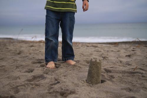 min sand castle