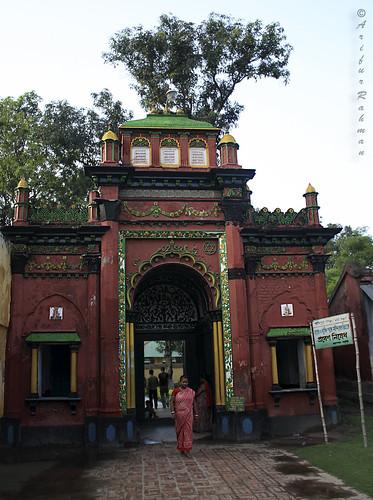 Dinajpur Rajbari - Entry of Krishna Temple
