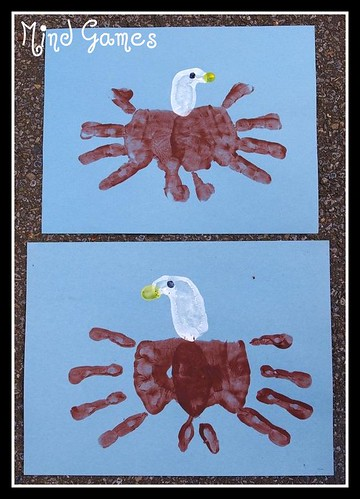 Bald Eagle Handprint 2