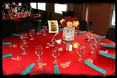 Tattoo Tables with Custom Tattoo Cookies by Sugars, Inc.