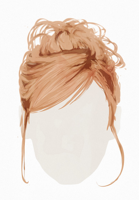vektor haare