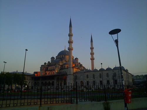 Dusk over Istanbul